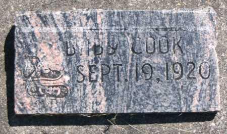 COOK, BABY - Cache County, Utah   BABY COOK - Utah Gravestone Photos