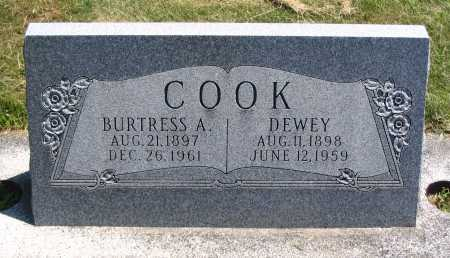 COOK, DEWEY - Cache County, Utah   DEWEY COOK - Utah Gravestone Photos
