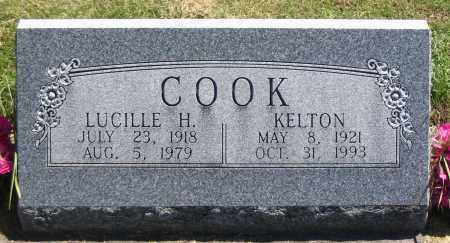 COOK, LUCILLE H. - Cache County, Utah | LUCILLE H. COOK - Utah Gravestone Photos