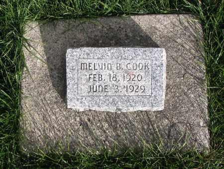 COOK, MELVIN B. - Cache County, Utah | MELVIN B. COOK - Utah Gravestone Photos