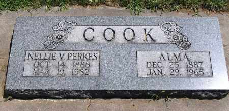 COOK, NELLIE V. - Cache County, Utah | NELLIE V. COOK - Utah Gravestone Photos