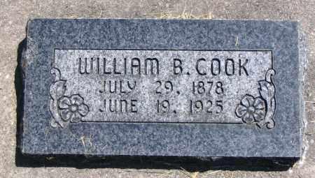 COOK, WILLIAM B. - Cache County, Utah | WILLIAM B. COOK - Utah Gravestone Photos