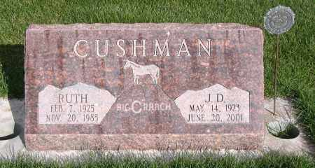 SHRINE CUSHMAN, RUTH ELLA - Cache County, Utah | RUTH ELLA SHRINE CUSHMAN - Utah Gravestone Photos