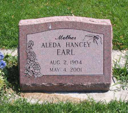 EARL, ALEDA - Cache County, Utah   ALEDA EARL - Utah Gravestone Photos