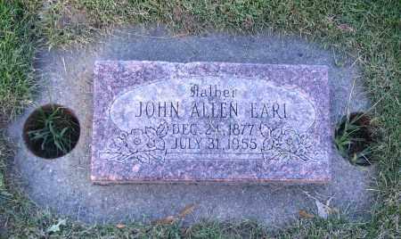 EARL, JOHN ALLEN - Cache County, Utah   JOHN ALLEN EARL - Utah Gravestone Photos