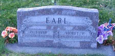 EARL, O. LAVAR - Cache County, Utah | O. LAVAR EARL - Utah Gravestone Photos