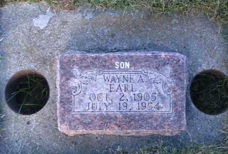 EARL, WAYNE A. - Cache County, Utah   WAYNE A. EARL - Utah Gravestone Photos