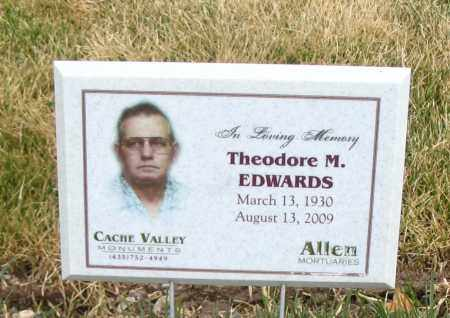 EDWARDS, THEODORE M. - Cache County, Utah   THEODORE M. EDWARDS - Utah Gravestone Photos