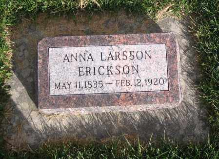 LARSSON ERICKSON, ANNA - Cache County, Utah | ANNA LARSSON ERICKSON - Utah Gravestone Photos