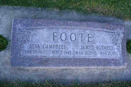 CAMPBELL, ALVA - Cache County, Utah   ALVA CAMPBELL - Utah Gravestone Photos
