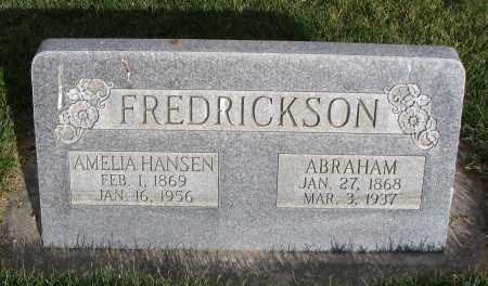 HANSEN FREDRICKSON, AMELIA - Cache County, Utah | AMELIA HANSEN FREDRICKSON - Utah Gravestone Photos