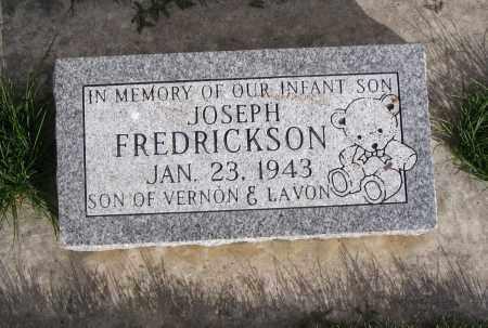FREDRICKSON, JOSEPH - Cache County, Utah | JOSEPH FREDRICKSON - Utah Gravestone Photos