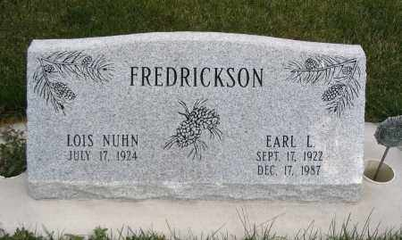 FREDRICKSON, EARL L. - Cache County, Utah | EARL L. FREDRICKSON - Utah Gravestone Photos