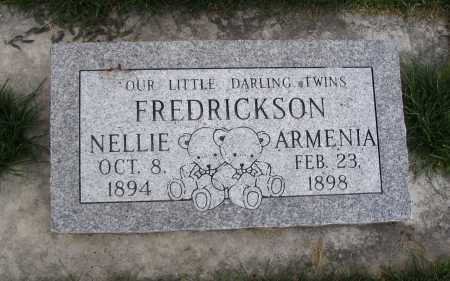 FREDRICKSON, NELLIE - Cache County, Utah | NELLIE FREDRICKSON - Utah Gravestone Photos