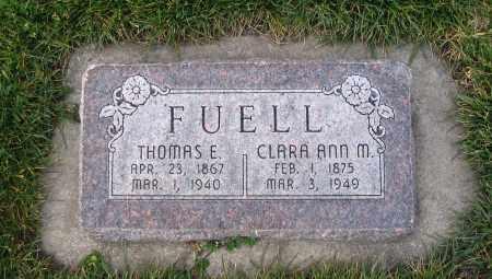 FUELL, THOMAS E. - Cache County, Utah | THOMAS E. FUELL - Utah Gravestone Photos