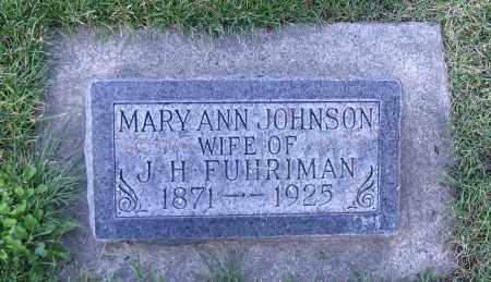 JOHNSON, MARY ANN - Cache County, Utah   MARY ANN JOHNSON - Utah Gravestone Photos