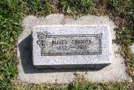 GARDNER, ALFRED - Cache County, Utah | ALFRED GARDNER - Utah Gravestone Photos