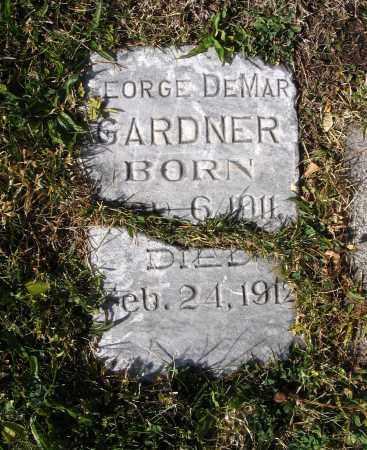GARDNER, GEORGE DEMAR - Cache County, Utah | GEORGE DEMAR GARDNER - Utah Gravestone Photos