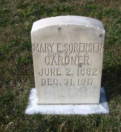 GARDNER, MARY E. - Cache County, Utah | MARY E. GARDNER - Utah Gravestone Photos