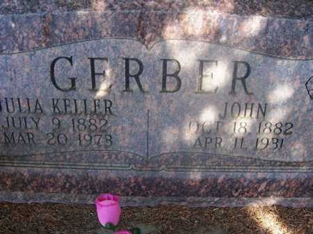 KELLER GERBER, JULIA - Cache County, Utah | JULIA KELLER GERBER - Utah Gravestone Photos