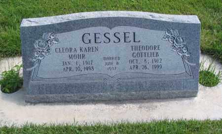 GESSEL, CLEORA KAREN - Cache County, Utah | CLEORA KAREN GESSEL - Utah Gravestone Photos