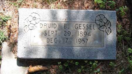 GESSEL, DAVID BRAND - Cache County, Utah   DAVID BRAND GESSEL - Utah Gravestone Photos