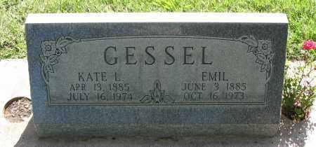 GESSEL, EMIL - Cache County, Utah   EMIL GESSEL - Utah Gravestone Photos