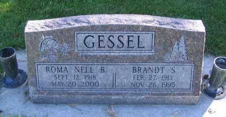 GESSEL, ROMA NELL B. - Cache County, Utah | ROMA NELL B. GESSEL - Utah Gravestone Photos