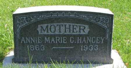 HANCEY, ANNIE MARIE C. - Cache County, Utah | ANNIE MARIE C. HANCEY - Utah Gravestone Photos