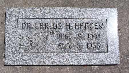 HANCEY, CARLOS H. - Cache County, Utah | CARLOS H. HANCEY - Utah Gravestone Photos