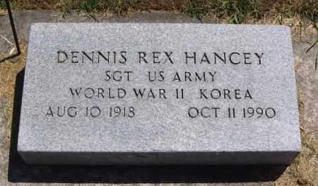 HANCEY, DENNIS REX - Cache County, Utah | DENNIS REX HANCEY - Utah Gravestone Photos