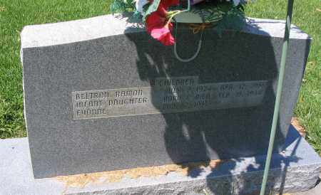 HANCEY, INFANT DAUGHTER - Cache County, Utah | INFANT DAUGHTER HANCEY - Utah Gravestone Photos