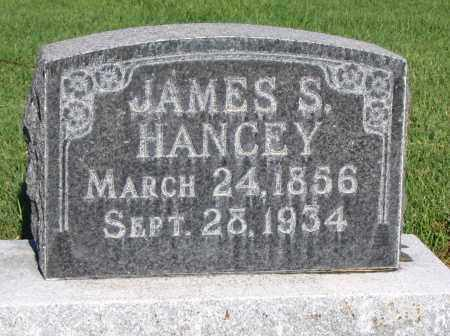 HANCEY, JAMES S. - Cache County, Utah | JAMES S. HANCEY - Utah Gravestone Photos