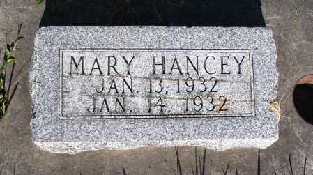 HANCEY, MARY - Cache County, Utah | MARY HANCEY - Utah Gravestone Photos