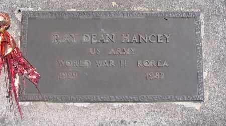 HANCEY, RAY DEAN - Cache County, Utah | RAY DEAN HANCEY - Utah Gravestone Photos
