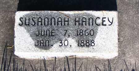 HANCEY, SUSANNAH - Cache County, Utah | SUSANNAH HANCEY - Utah Gravestone Photos