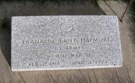 HAYMORE (WWII), FRANKLIN LANT - Cache County, Utah | FRANKLIN LANT HAYMORE (WWII) - Utah Gravestone Photos