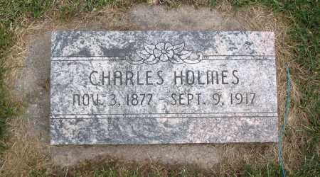 HOLMES, CHARLES - Cache County, Utah | CHARLES HOLMES - Utah Gravestone Photos