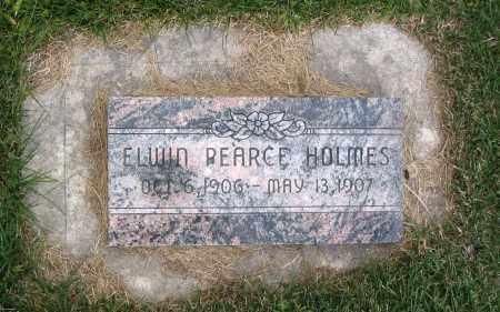 HOLMES, ELWIN PEARCE - Cache County, Utah | ELWIN PEARCE HOLMES - Utah Gravestone Photos