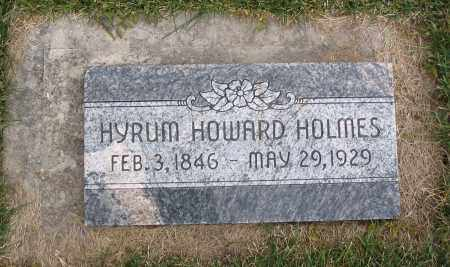 HOLMES, HYRUM HOWARD - Cache County, Utah | HYRUM HOWARD HOLMES - Utah Gravestone Photos