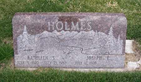 HOLMES, KATHLEEN JUNE - Cache County, Utah   KATHLEEN JUNE HOLMES - Utah Gravestone Photos