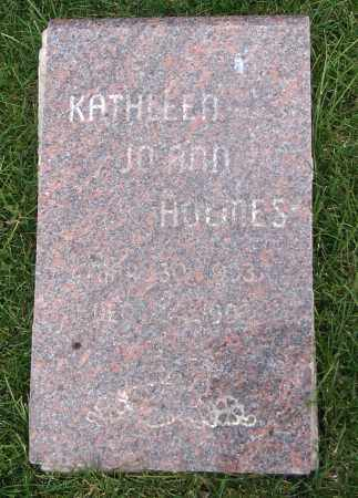 HOLMES, KATHLEEN JOANN - Cache County, Utah | KATHLEEN JOANN HOLMES - Utah Gravestone Photos