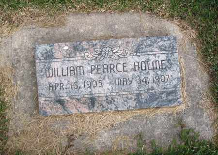 HOLMES, WILLIAM PEARCE - Cache County, Utah | WILLIAM PEARCE HOLMES - Utah Gravestone Photos