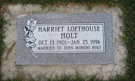 LOFTHOUSE HOLT, HARRIET - Cache County, Utah | HARRIET LOFTHOUSE HOLT - Utah Gravestone Photos