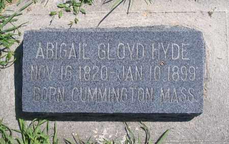 HYDE, ABIGAIL - Cache County, Utah | ABIGAIL HYDE - Utah Gravestone Photos
