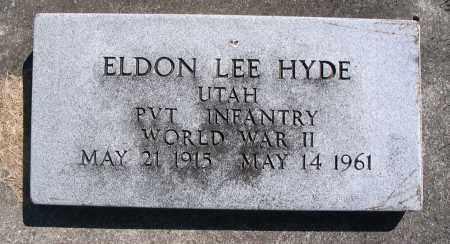 HYDE, ELDON LEE - Cache County, Utah | ELDON LEE HYDE - Utah Gravestone Photos
