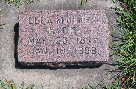 HYDE, ELLA M. - Cache County, Utah   ELLA M. HYDE - Utah Gravestone Photos