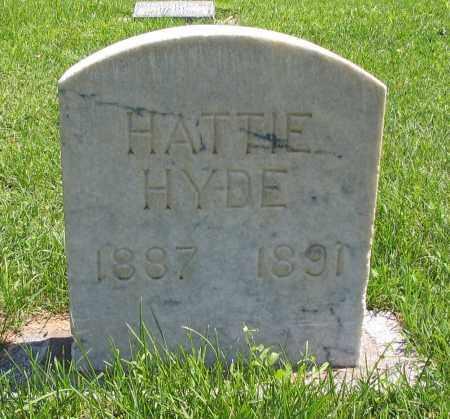 HYDE, HATTIE - Cache County, Utah   HATTIE HYDE - Utah Gravestone Photos
