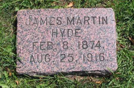 HYDE, JAMES MARTIN - Cache County, Utah   JAMES MARTIN HYDE - Utah Gravestone Photos