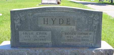 HYDE, ROSEL HOMER - Cache County, Utah | ROSEL HOMER HYDE - Utah Gravestone Photos